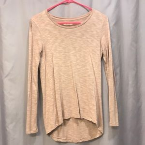 Mauve Madewell long sleeve